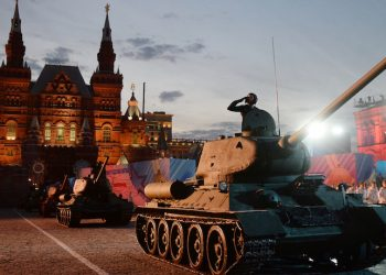 Russia Commemorates 70th Anniversary Of Victory Day
